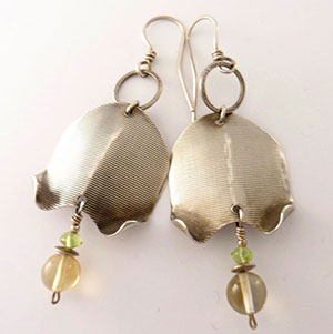 Earrings by Bonnie AuBuchon