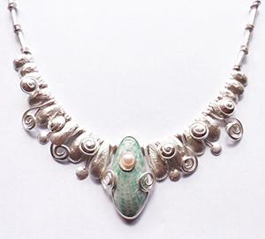 Necklace by Bonnie AuBuchon