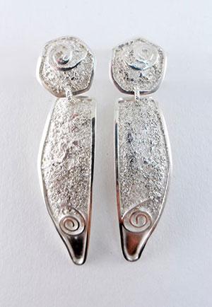 Earring by Bonnie AuBuchon